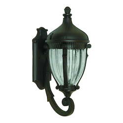 Artcraft Anapolis 1 Light  Oil Rubbed Bronze Outdoor Wall Light