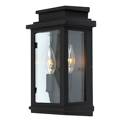 Artcraft Fremont 2 Light AC8291BK Black Outdoor Light