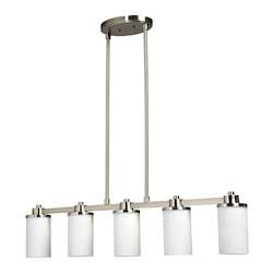 Artcraft Parkdale    Polished Nickel Island Light