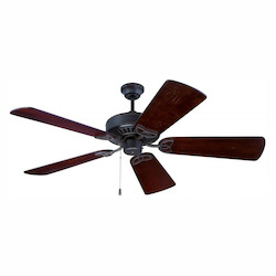 Craftmade Aged Bronze Five Blade Ceiling Fan With Custom Blade Options