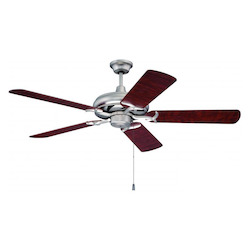 Craftmade Brushed Nickel Custom Blade Options 44in. 5 Blade Energy Star Indoor Ceiling Fan