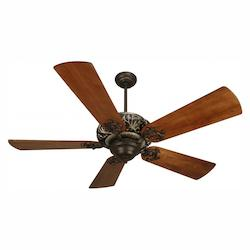 Craftmade Aged Bronze / Vintage Madera 44in. 5 Blade Indoor Ceiling Fan