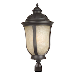 Craftmade Oiled Bronze Frances II 1 Light Energy Star Post Light
