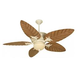 Craftmade Antique Distressed White Indoor / Outdoor Ceiling Fan- Blades Sold Separately