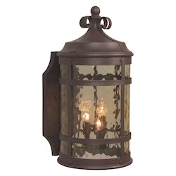 Craftmade Rustic Iron España 4 Light Outdoor Wall Sconce - 9.9 Inches Wide