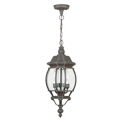 Craftmade Outdoor Lighting Three Light Pendant