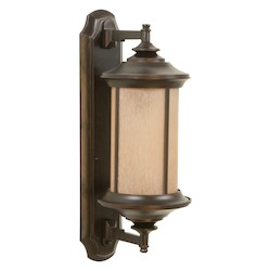 Craftmade Oiled Bronze Gilded Arden 1 Light Outdoor Wall Sconce - 8.5 Inches Wide
