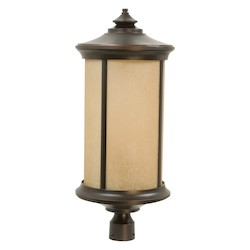 Craftmade Oiled Bronze Gilded Arden 1 Light Large Post Light