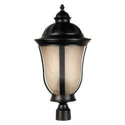 Craftmade Oiled Bronze Francès II 3 Light Large Post Light