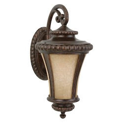 Craftmade Peruvian Bronze Prescott 1 Light Outdoor Wall Sconce - 10 Inches Wide