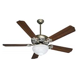 Craftmade 52'' Fan W/ Alabaster Bowl Blades Sold Separately