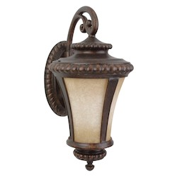 Craftmade Peruvian Prescott 1 Light Outdoor Wall Sconce - 12 Inches Wide