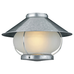 Craftmade Galvanized Single Light Outdoor Light Kit from the Craftmade Collection