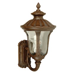 Craftmade Aged Bronze Scheffield 1 Light Outdoor Wall Sconce - 9 Inches Wide