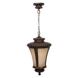 Craftmade Peruvian Bronze Prescott 1 Light Lantern Outdoor Pendant - 12 Inches Wide