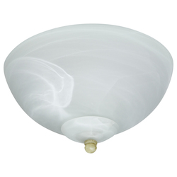 Craftmade Alabaster 2 Light Outdoor Bowl Light Kit