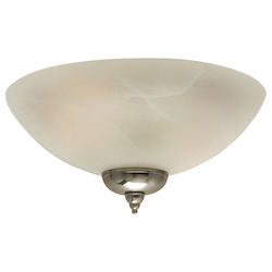 Craftmade Alabaster Energy Star Ceiling Fan Light Kit from the Economy Collection