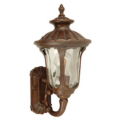 Craftmade Aged Bronze Scheffield 1 Light Outdoor Wall Sconce - 7 Inches Wide