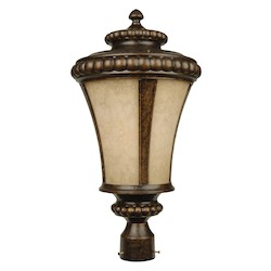 Craftmade Peruvian Bronze Prescott 1 Light Post Light