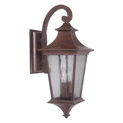 Craftmade Outdoor Wall Sconce In Aged Bronze