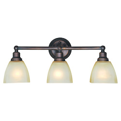 Craftmade Three Light Bronze Vanity