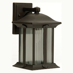 Craftmade Oiled Bronze Summit 1 Light Outdoor Wall Sconce - 7.1 Inches Wide