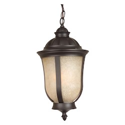 Craftmade Oiled Bronze Frances II 1 Light Outdoor Pendant - 9.5 Inches Wide
