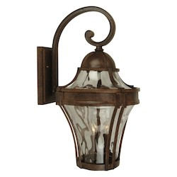 Craftmade Aged Bronze Parish 1 Light Outdoor Wall Sconce - 7 Inches Wide