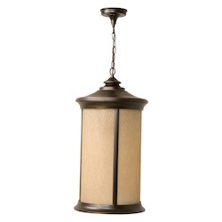 Craftmade Oiled Bronze Gilded Arden 1 Light Cylinder Outdoor Pendant - 12 Inches Wide