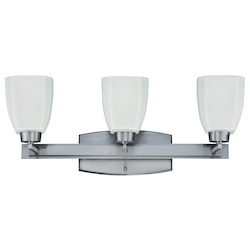 Craftmade Brush Nickel Bridwell 3 Light Indoor Wall Sconce - 23.63 Inches Wide