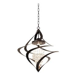 Kalco Old Bronze Oxford 1 Light 1 Tier Chandelier