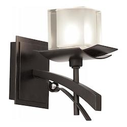 Kalco Tawny Port Nijo 1 Light Bathroom Sconce