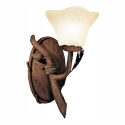Kalco Ponderosa Ponderosa 1 Light Wall Sconce