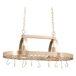 Kalco Satin Nickel Contemporary 2 Light 1 Tier Linear Chandelier