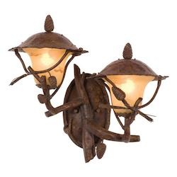 Kalco Ponderosa Ponderosa Outdoor 2 Light Wall Sconce