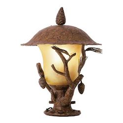 Kalco Ponderosa Ponderosa Outdoor 3 Light Lantern Head