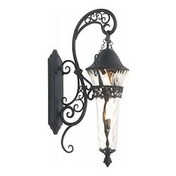 Kalco Burnished Bronze Anastasia Outdoor 2 Light Outdoor Wall Sconce