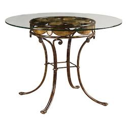Kalco Sienna Bronze Vine Dining Table