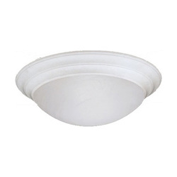 Designers Fountain White  3 Light 16.75