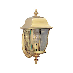 Designers Fountain Polished Brass Pvd Finish 1 Light 6