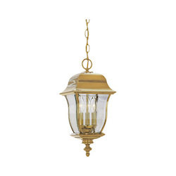 Designers Fountain Polished Brass Pvd Finish 3 Light 10