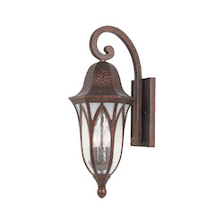 Designers Fountain Burnished Antique Copper 3 Light 9