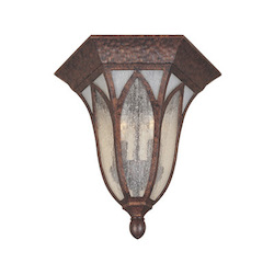 Designers Fountain Burnished Antique Copper 2 Light Cast Aluminum Flush Mount