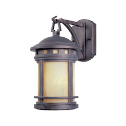 Designers Fountain Mediterranean Patina 1 Light 7