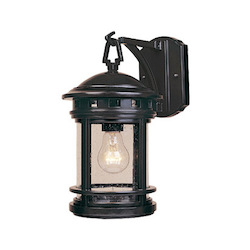 Designers Fountain Oil Rubbed Bronze W/Seedy 1 Light 7