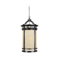 Designers Fountain Oil Rubbed Bronze 4 Light Foyer Pendant from the Sedona Collection