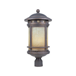 Designers Fountain Mediterranean Patina W/Amber 3 Light 11