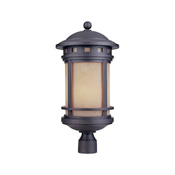 Designers Fountain Oil Rubbed Bronze W/Amber 3 Light 11