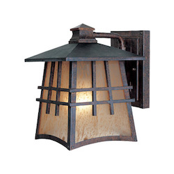 Designers Fountain Mediterranean Patina 1 Light Wall Lantern