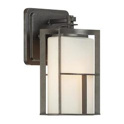Designers Fountain Charcoal 1 Light Outdoor Wall Lantern from the Braxton Collection